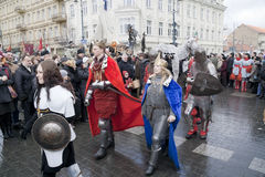 5 2011 marscherar vilnius Royaltyfri Fotografi