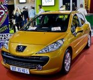 5 207 xs de M/H Peugeot de hdi d'écoutille de trappe Photo stock