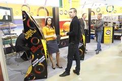 5 23 25 торговый автомат в марше 201 выставки международный Стоковые Изображения RF