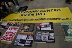 5/3/2011 Mailand-- Corteo Staatsangehöriger antivivisection Stockbilder