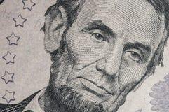 Долларовая банкнота 5 Стоковая Фотография RF
