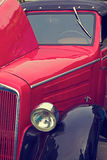 Винтажный взгляд на одном старом автомобиле 5 Стоковые Фото