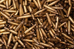 5,56 mm bullet casings royalty free stock image