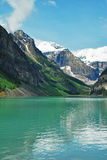 5 alberta Kanada Lake Louise Arkivbilder