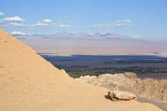 5 atacama峭壁沙漠月亮谷 图库摄影