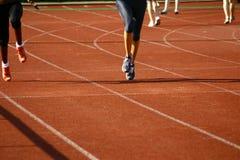 #5 atletico Fotografie Stock