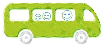 5 autobusowy jpg Zdjęcia Royalty Free