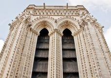 5 błękit katedralny paniusi notre niebo Fotografia Stock