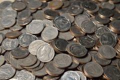 5 Bahtmünzen Stockbild
