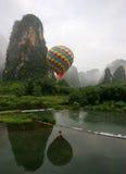 5 balon powietrza gorące Fotografia Stock