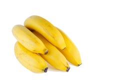 5 bananer Arkivbild