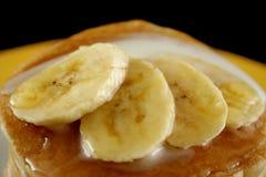 5 bananpannkakor Royaltyfri Bild