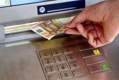 5 bankomat 免版税库存图片