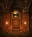 5 baroku pokój royalty ilustracja