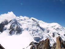 5 bianco monte Obrazy Stock