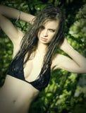 5 bikini lato Fotografia Stock