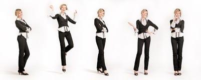 5 bizneswoman zdjęcia stock