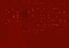 5 bożych narodzeń ilustraci czerwień Obraz Stock