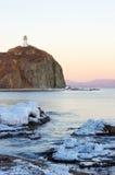 5 brinera przylądka latarnia morska Obrazy Stock
