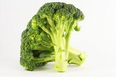 5 brocolli绿色serries 免版税库存图片