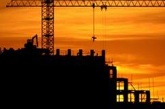 5 budowy Fotografia Stock