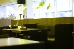 5 cafe interier Obrazy Royalty Free