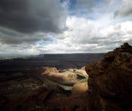 5 canyonlands Юта Стоковые Изображения