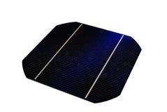 5 a cellule solari Immagini Stock