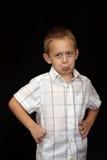 5 chłopiec stary rok Zdjęcie Stock