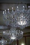 5 chandelier Στοκ Φωτογραφίες