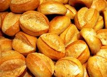 5 chlebowych rolek Fotografia Royalty Free