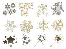 5 christmas stuff Στοκ φωτογραφία με δικαίωμα ελεύθερης χρήσης