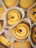 5 ciasteczka pudełkowatych Obraz Royalty Free