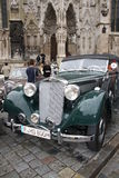 5. Classic Rally in Regensburg Stock Photos