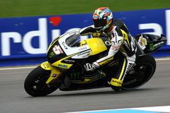 5 Colin EDWARDS e tecnologia 3 de Yamaha do monstro Foto de Stock