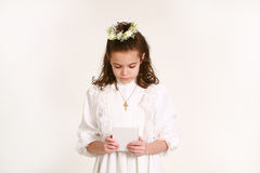 5 communion premier Images stock