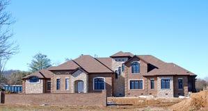 5 in costruzione domestici di lusso Immagini Stock Libere da Diritti