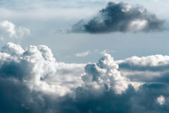 5 cumulus Zdjęcia Royalty Free