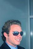 5 człowiekiem biznesu okulary przeciwsłoneczne obraz stock