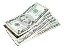 5 de Dollars van de V.S. royalty-vrije stock afbeeldingen