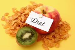 5 dieta fotografia stock