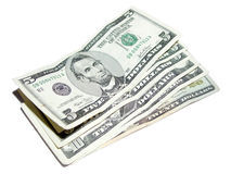 5 dólar americano Imágenes de archivo libres de regalías
