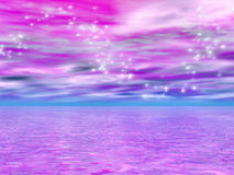 5 drömlika vatten Royaltyfri Bild