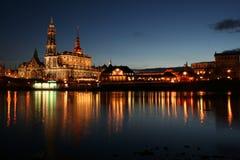 5 dresden mirrored Στοκ Φωτογραφίες