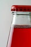 5 drinka zbliżeń czerwone. Obraz Royalty Free