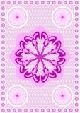 5.Embroidery een kant. royalty-vrije illustratie