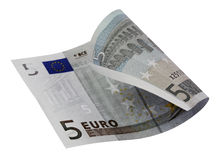 5 Euro bill Royalty Free Stock Photos
