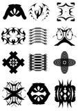 5.Examples voor logotype. Royalty-vrije Stock Foto
