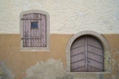 5 fönster Royaltyfri Fotografi