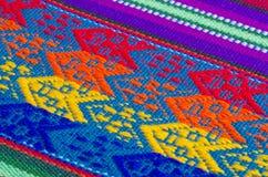 5 för bomullstabell för torkduk färgrika texturer Royaltyfri Bild